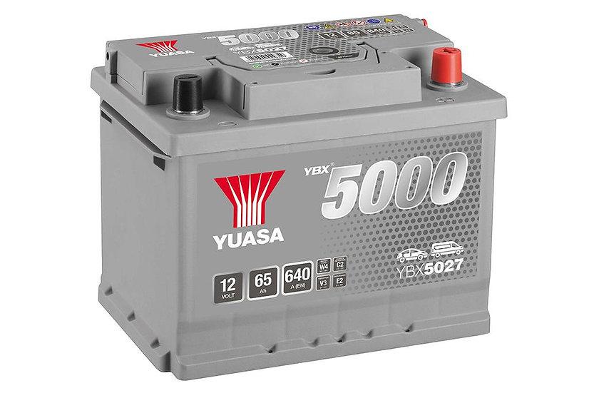 Аккумулятор YUASA 62Ah 12V 620A