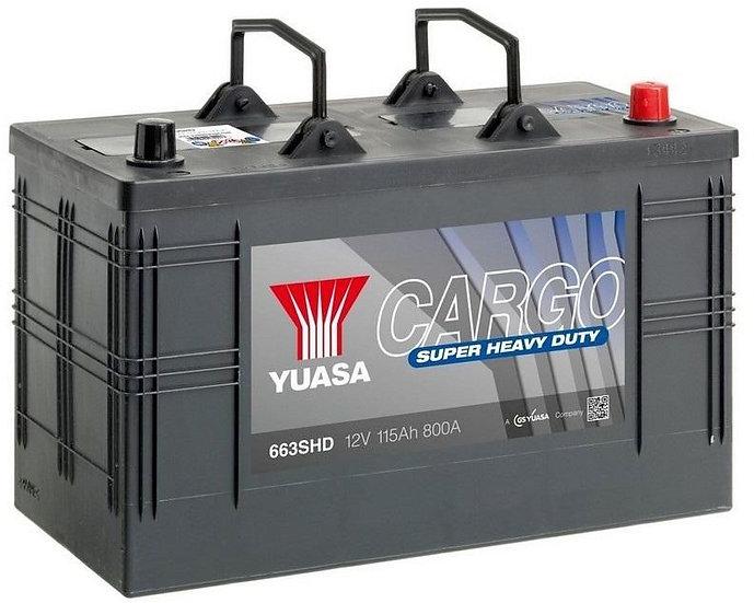 Аккумулятор YUASA 115Ah 12V 800A