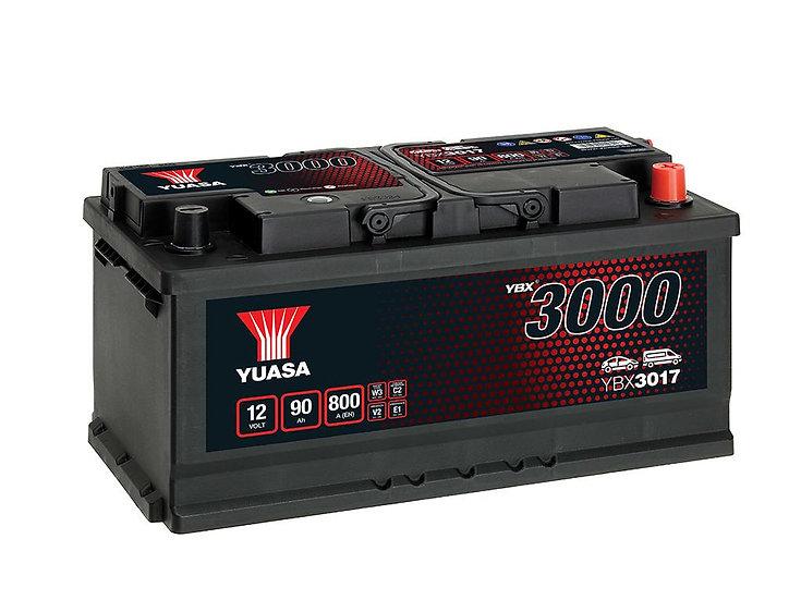 Аккумулятор YUASA 90Ah 12V 800A