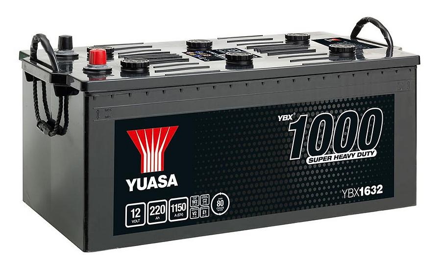 Аккумулятор YUASA 220AH 12V 1150A