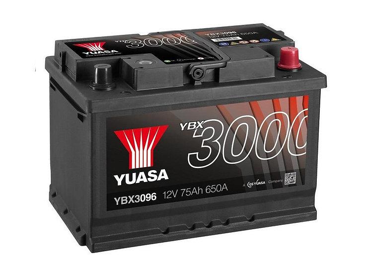 Аккумулятор YUASA 75Ah 12V 650A