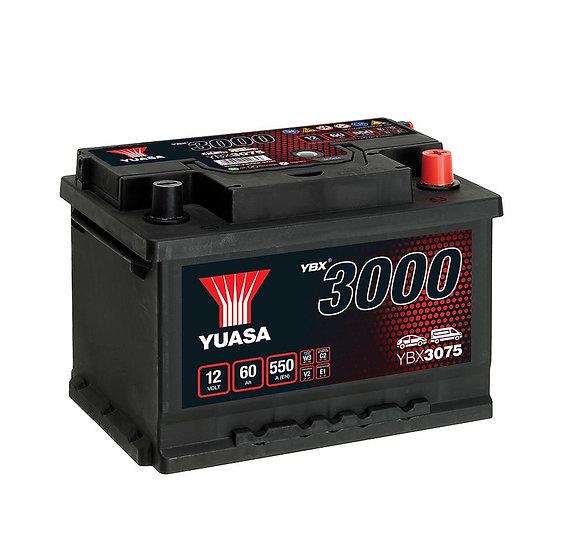 Аккумулятор YUASA 60Ah 12V 550A