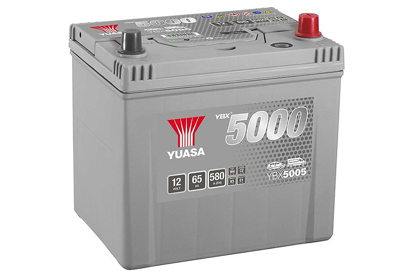Аккумулятор YUASA 65Ah 12V 550A