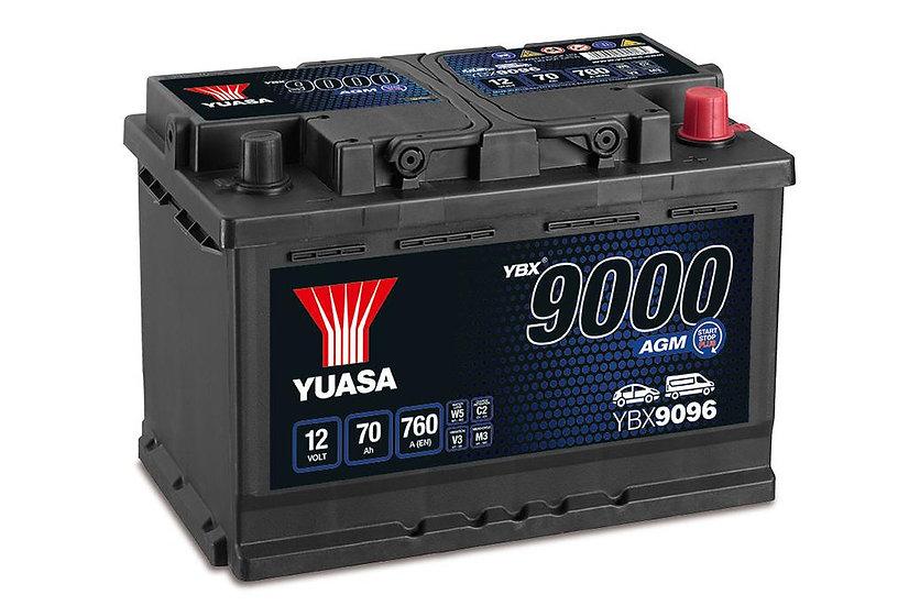 Аккумулятор YUASA 70Ah 12V 760A