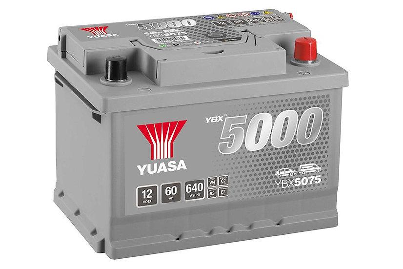 Аккумулятор YUASA 60Ah 12V 620A HD