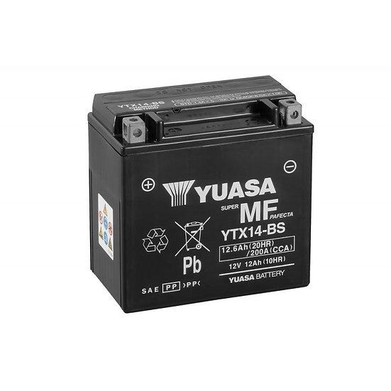 Аккумулятор YUASA Moto 12Ah-12.6Ah 12V 200A