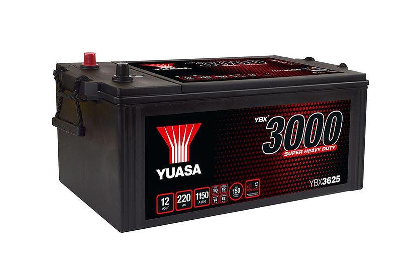 Аккумулятор YUASA 225ah-220Ah 12V 1150A