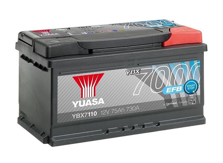 Аккумулятор YUASA 75Ah-74AH 12V 730A HD