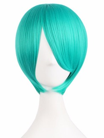 Short Wig - Green (Smooth)