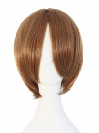 Short Wig -Brown (Smooth)