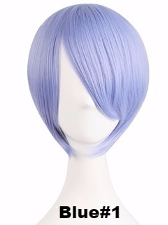 Short Wig - Blue (Smooth)