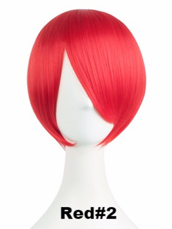 Short Wig -Red (Smooth)