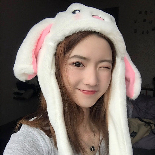 CUTE EAR MOVING RABBIT HAT BEANIE