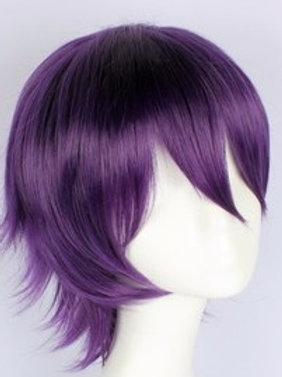 Short Wig - Purple (Spiky )