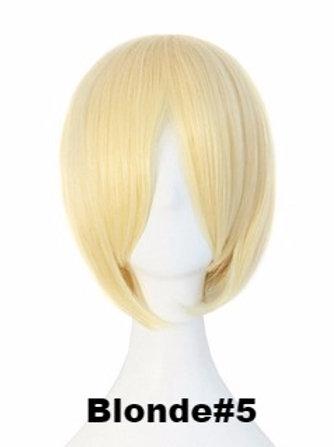 Short Wig -Blonde (Smooth)