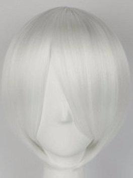 Short Wig -Grey (Smooth)