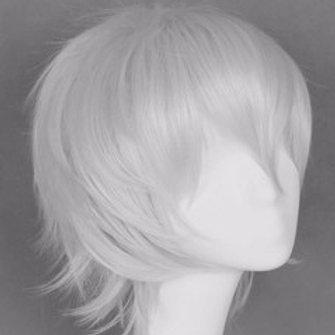 Short Wig - Grey (Spiky )