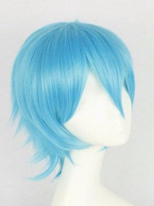 Short Wig - Blue (Spiky )