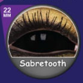Sabretooth Sclera Lense Whole black