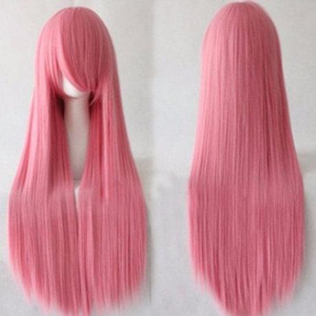 Long Wig - Pink (80cm)