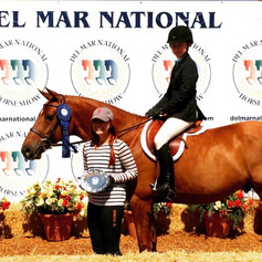Congratulations to Lauren Vigneron on her win with Bleeker Street at Del Mar National