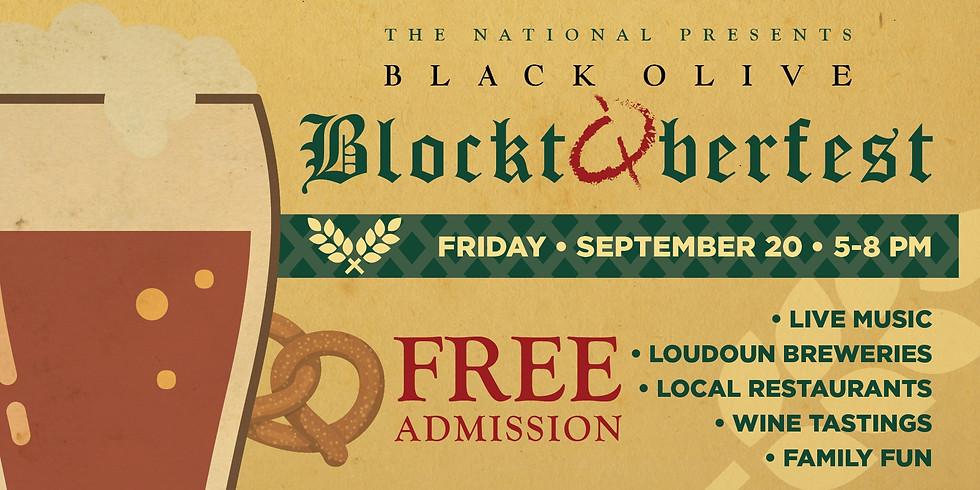 Black Olive Blocktoberfest at National Conference Center