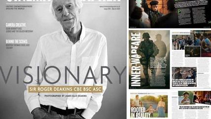 BC MAGAZINE - TAKE A LOOK INSIDE BRITISH CINEMATOGRAPHER'S SPECIAL MARCH EDITION