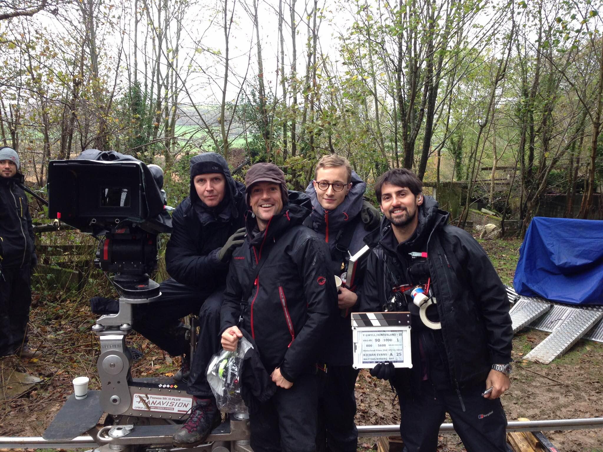HINTERLAND camera crew