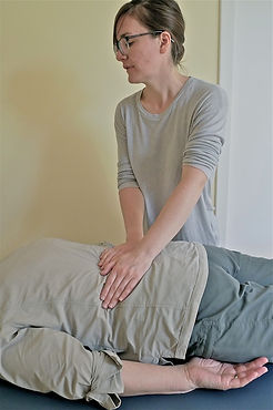 Massage, lower back