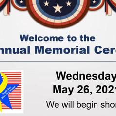CA4 Annual Memeorial Ceremony 2021