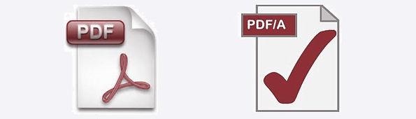 PDF PDF/A Scanning