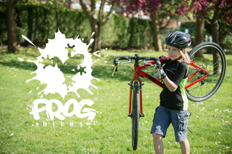 Brighton and Hove Triathlon partner with Frog Bikes to bring children's triathlon to Brighton be