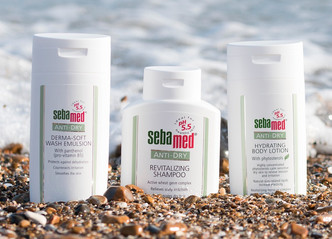 Protect your skin with Sebamed when training against the elements