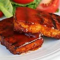 BBQ Tofu Platter