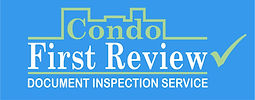 Condo First Review Document Inspection Service