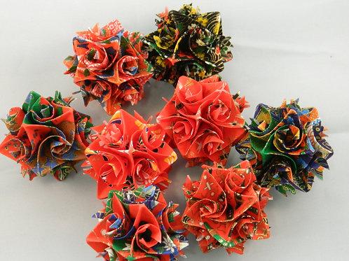Washi Paper Origami Ornaments Small Size