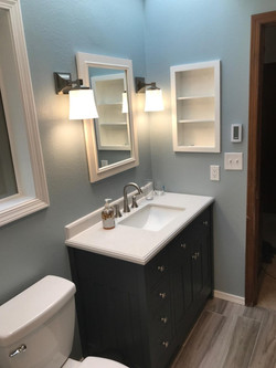 Completed Bath Vanity
