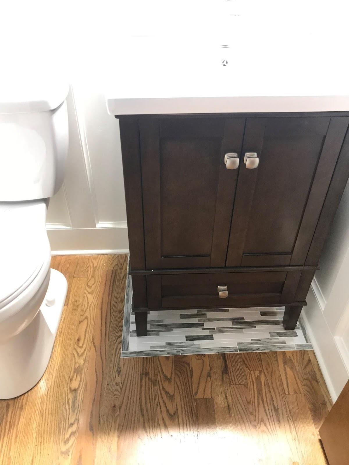 Vanity Flooring