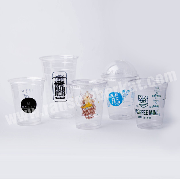 Gelas Plastik PET Plastic Cup