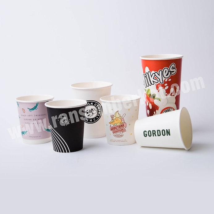 Gelas Kertas Paper Cup Hot & Cold