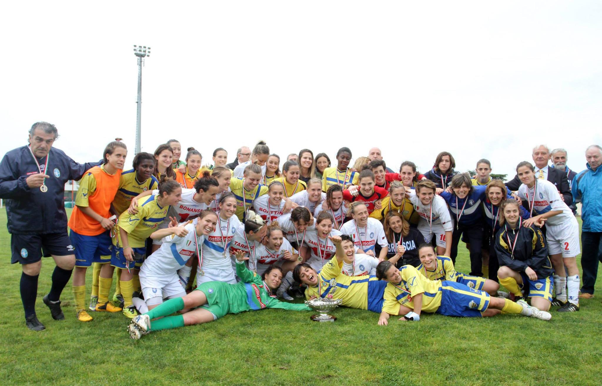 Facebook: ACF Brescia Calcio Femminile