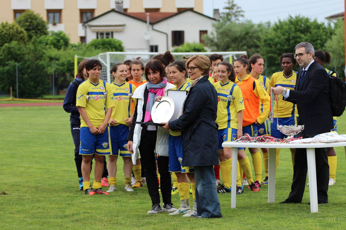 Finale Coppa Italia 2015, premiazioni - Facebook: ACF Brescia Calcio Femminile