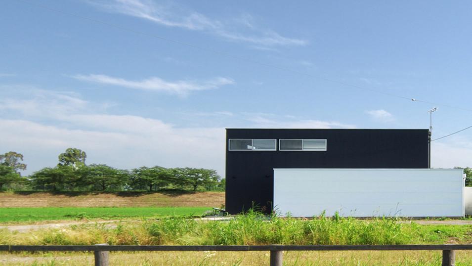 |with| 群馬県邑楽郡板倉町の住宅