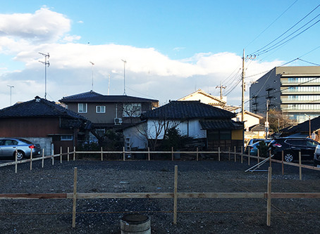 遣り方@群馬県太田市の住宅