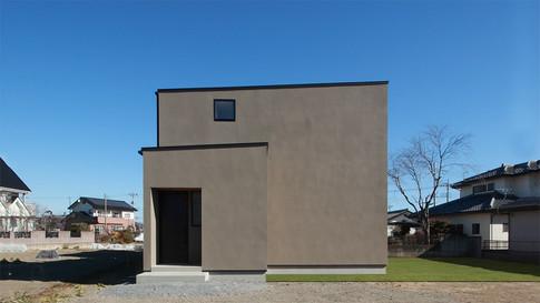 |uneven|群馬県高崎市の住宅