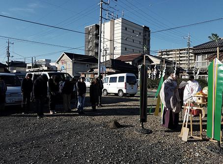 地鎮祭@群馬県太田市の住宅