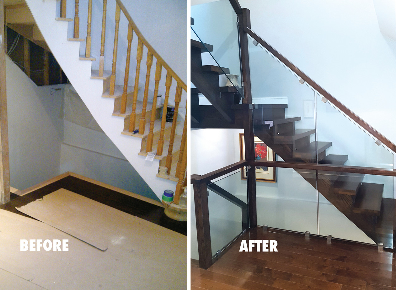 Custom Staircase Renovation