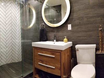How to create a great Basement Bathroom