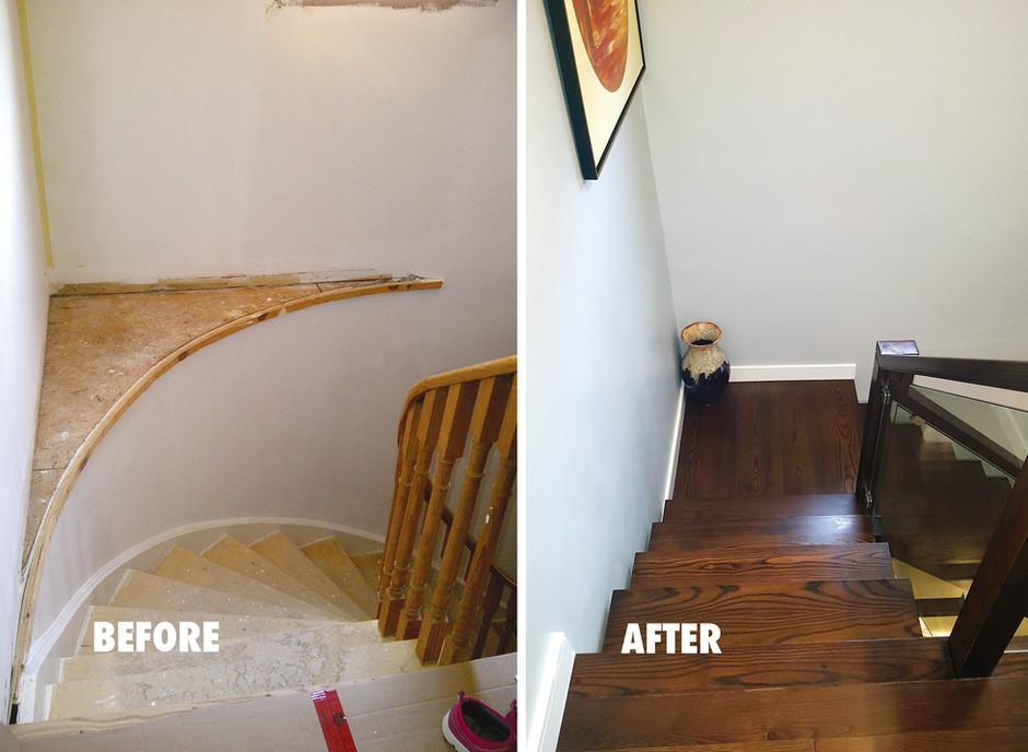Custom Staircase Renovation