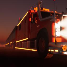incREDible night roadtrain